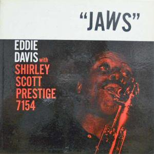 EDDIE LOCKJAW DAVIS WITH SHIRLEY SCOTT / Jaws(LP)