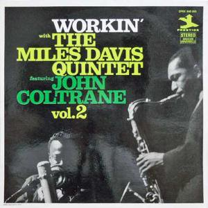 MILES DAVIS QUINTET Featuring JOHN COLTRANE / Workin': Vol. 2(LP)