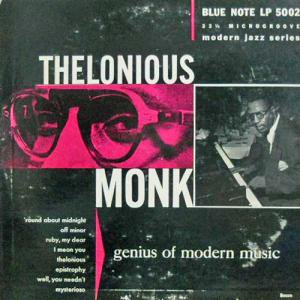 THELONIOUS MONK / Genius Of Modern Music(10