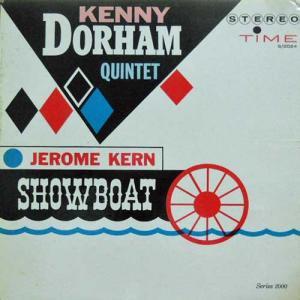 KENNY DORHAM QUINTET / Jerome Kern Showboat(LP)