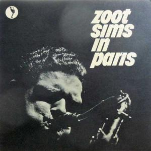 ZOOT SIMS / In Paris(LP)