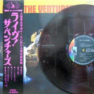 VENTURES / Live!(LP)