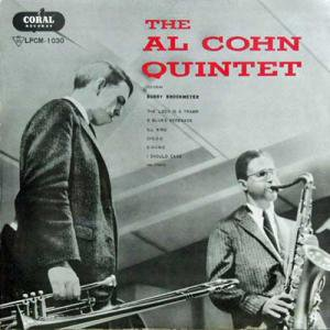AL COHN QUINTET / Featuring Bobby Brookmeyer(LP)