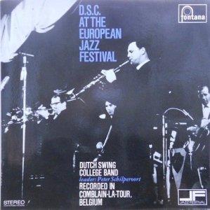 DUTCH SWING COLLEGE BAND / D.S.C. At The European Jazz Festival(LP)