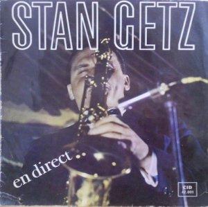 STAN GETZ / En Direct(LP)