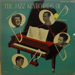 LENNIE TRISTANO / JOE BUSHKIN / BOBBY SCOTT.. / The Jazz Keyboards Of(LP)