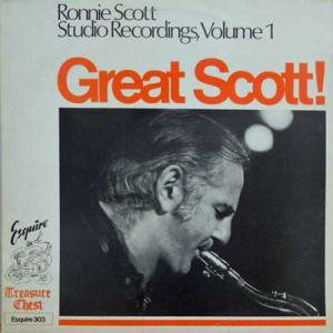 RONNIE SCOTT / Great Scott, Volume 1(LP)