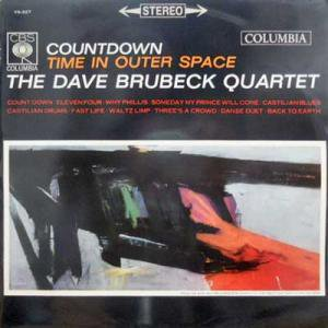 DAVE BRUBECK QUARTET / Countdown: Time In Outer Space(LP)