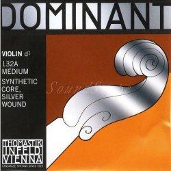 バイオリン弦 ドミナント ストレート D線シルバー巻