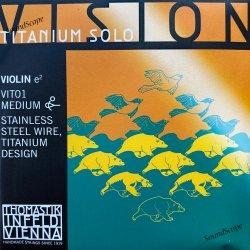 バイオリン弦 ヴィジョン チタニウム ソロ E線