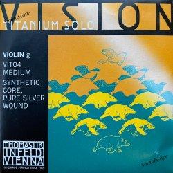バイオリン弦 ヴィジョン チタニウム ソロ G線