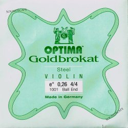 バイオリン弦 ゴールドブラカット E線