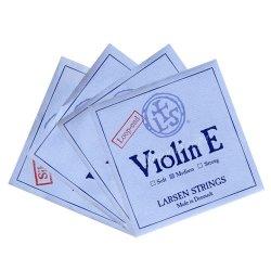 バイオリン弦 ラーセン E(スチール),A(シンセティック),D(アルミ巻),G線セット