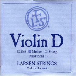バイオリン弦 ラーセン D線 シンセティックコア / アルミニウム巻