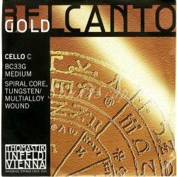 ベルカント ゴールド チェロ弦 C線