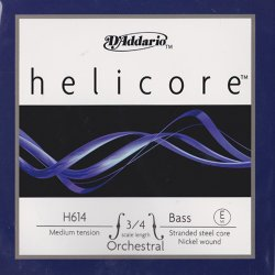 ヘリコア オーケストラ コントラバス弦 E線