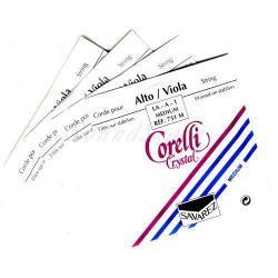 クリスタル ビオラ弦 A,D,G,C線セット