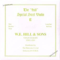 バイオリン弦 W.E.Hill&Sons ヒル E線