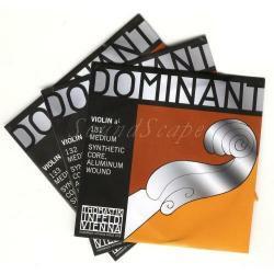 バイオリン弦 ドミナント 1/2 A,D,G線セット