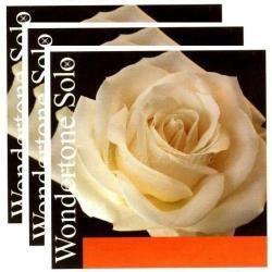 バイオリン弦 ワンダートーン ソロ A(シンセティック),D,G線セット