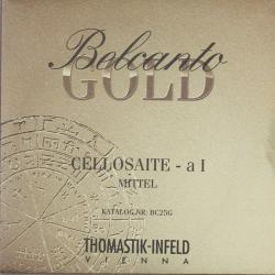 ベルカント ゴールド チェロ弦 旧パッケージ A線