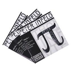 バイオリン弦 ペーターインフェルド A,D,G線セット D線シルバー