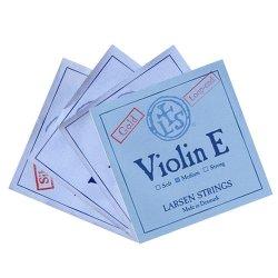 バイオリン弦 ラーセン E(ゴールド),A(シンセティック),D(アルミ巻),G線セット