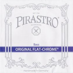 オリジナルフラットクロム ソロ コントラバス弦 H線