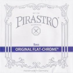 オリジナルフラットクロム ソロ コントラバス弦 Fis線