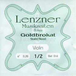 ゴールドブラカット E線 1/2 バイオリン分数弦