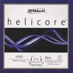 ヘリコア ピチカート コントラバス弦 G線