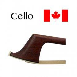 チェロ弓 カナダ産 毛替え
