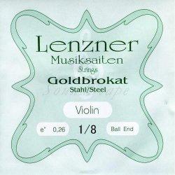 ゴールドブラカット E線 1/8 バイオリン分数弦