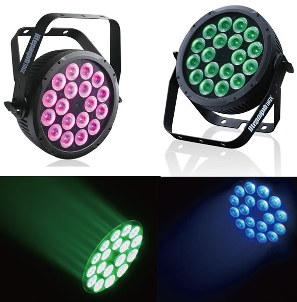 EK PRO LIGHTING Liteparpro 18QX 演出照明 舞台照明 LED DMX 販売 価格