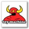 TOY MACHINE トイマシーン(ステッカー)
