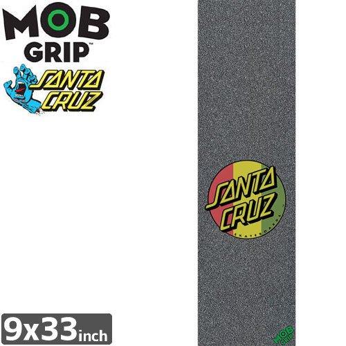 【モブグリップ MOB GRIP デッキテープ】SANTA CRUZ DOT GRIPTAPE【9 x 33】NO118