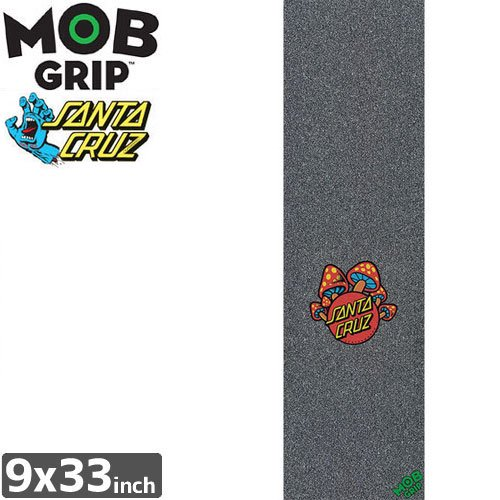 【モブグリップ MOB GRIP デッキテープ】SANTA CRUZ MUSHROOM DOT GRIPTAPE【9 x 33】NO119