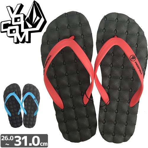 【VOLCOM ボルコム サンダル】RECLINER RUBBER SANDAL NO3