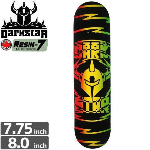 【ダークスター DARK STAR スケボー デッキ】SHOCK V2 RASTA DECK[7.75インチ][8.0インチ]NO91
