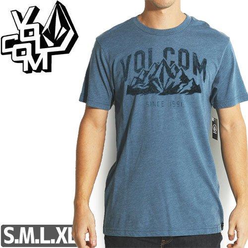 【VOLCOM ボルコム Tシャツ】STONITH S/S TEE【ヘザーブルー】NO92