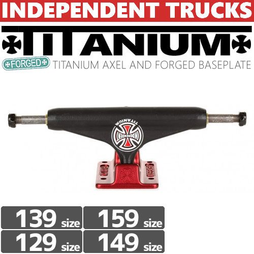 【INDEPENDENT トラック】FORGED TITANIUM STAGE11 TRUCKS【129】【139】【149】【159】【STANDARD】NO80
