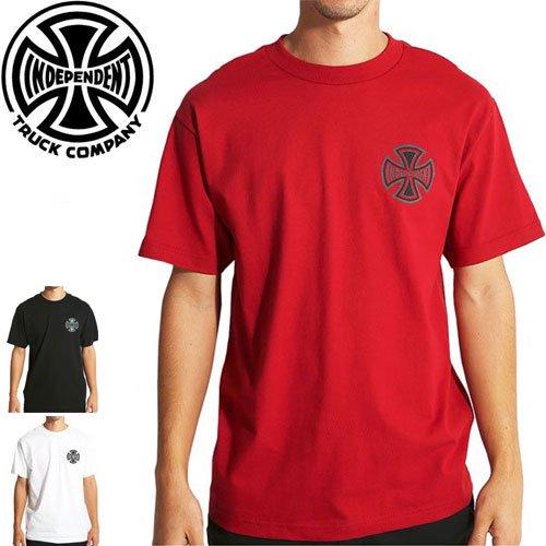【インディペンデント INDEPENDENT Tシャツ】REFLECTIVE CROSS TEE【3カラー】NO128