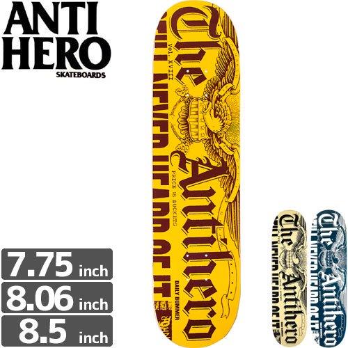 【ANTI HERO アンタイヒーロー デッキ】DAILY BUMMER DECK[7.75インチ]NO104