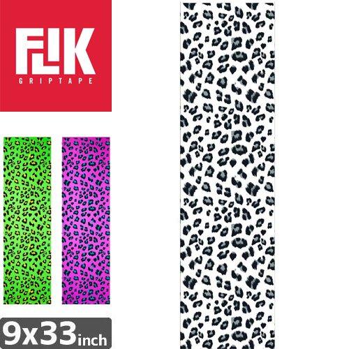 【フリック FLIK デッキテープ】LEOPARD GRIPTAPE【9 x 33】【ヒョウ柄】NO37