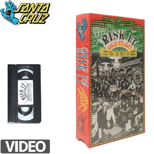 【SANTA CRUZ サンタクルーズ スケートボード ビデオ】A SPEED WHEELS RISK IT VIDEO【VHS】【ビデオテープ】NO1