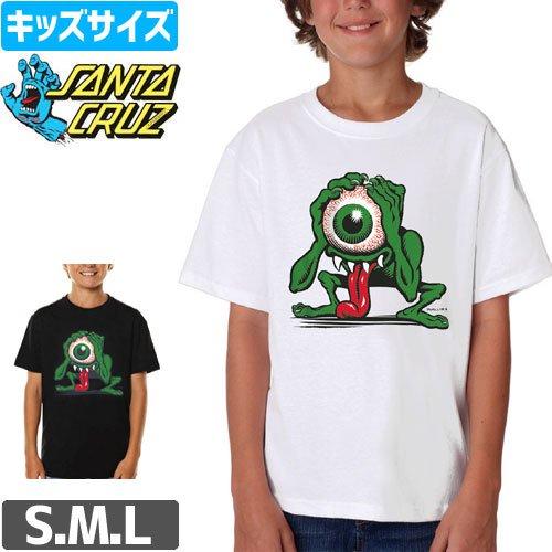 【サンタクルズ SANTA CRUZ キッズ Tシャツ】PHILLIPS EYEGORE YOUTH TEE【ユース サイズ】【ホワイト】【ブラック】NO33