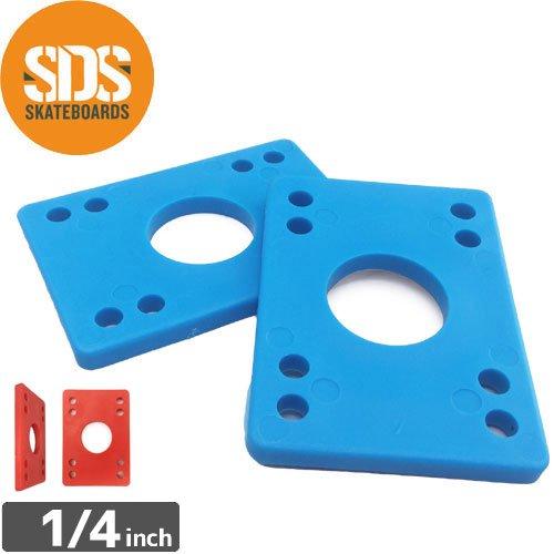 【SDS エスディーエス スケボー ライザー】6mm HARD RISER PADS HARD【1/4】NO3