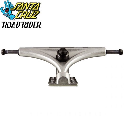 【ROAD RIDER ロードライダー SANTACRUZ スケボー トラック】ROAD RIDER SILVER 180mm【片側販売】NO1