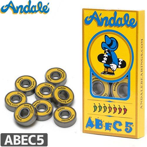 【ANDALE アンダレー スケボー ベアリング】BEARINGS【ABEC5】NO1