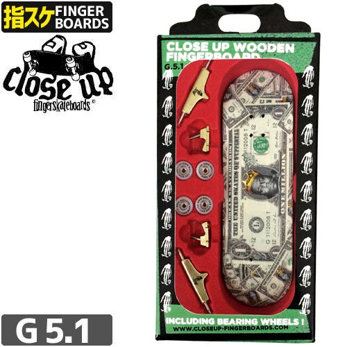【クローズアップ CLOSE UP フィンガーボード】DREAM DOLLAR BILL FINGERBOARD【G5.1】NO94